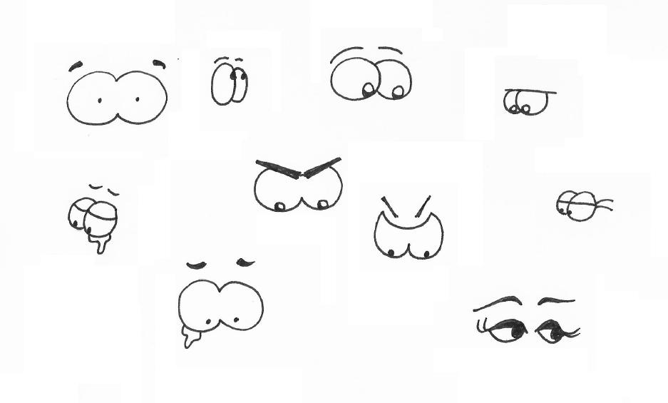 Comic-Augen zeichnen - Schritt für Schritt - Tutorial für ...