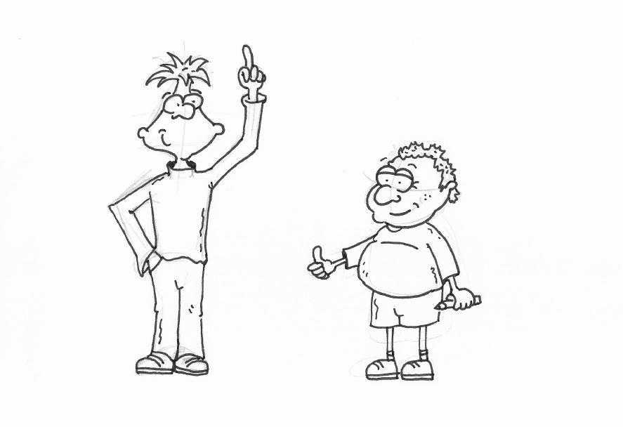 Selber zeichnen comicfiguren Comicfiguren entwerfen